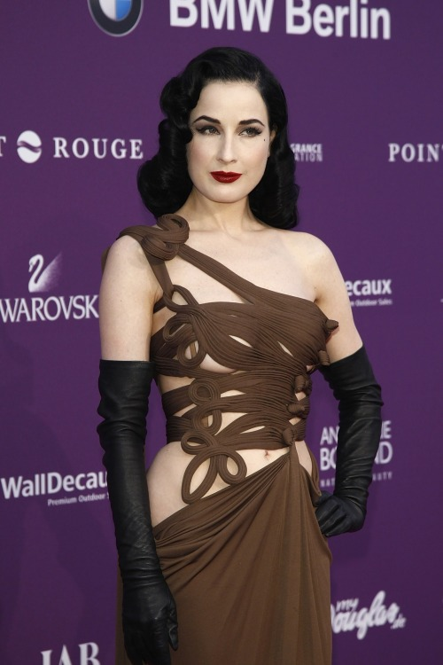suicideblonde:  Dita Von Teese at the Duftstars Awards in Berlin, German, May 4th