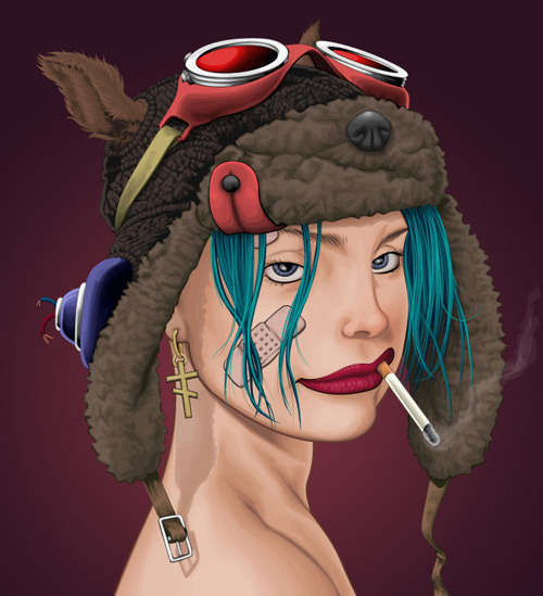 actioncomics:  Tank Girl by akugyouza