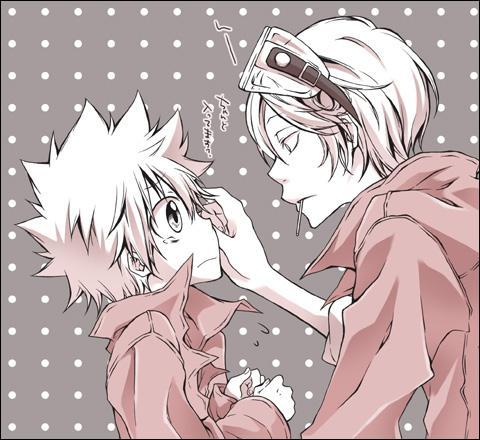 I just ship Spanner x Tsuna so hard.