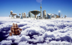 """Cloud city"". (2004)"