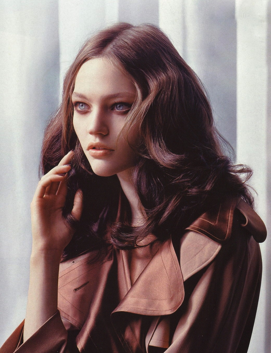 Sasha Pivovarova by Lachlan Bailey for Vogue China October 2005