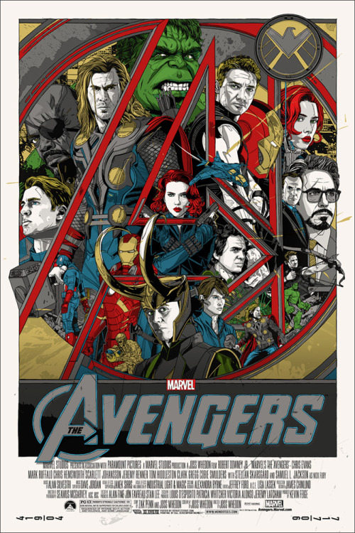 unknownskywalker:  The Avengers by Tyler Stout