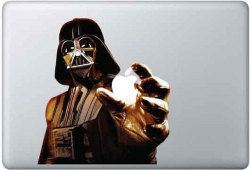 Darth Vader Apple Macbook Decal Sticker for 11,13,15, 17 inch Pro/ Air/ Unibody