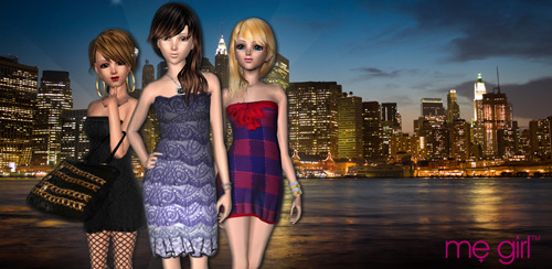 The Me Girl titles offer 3D lifestyle and fashion mobile gaming experiences for all ages. Our games can be found on the Android Market or the iTunes store!