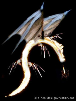 """Fire Dragon"" photomanipulation. (2003)"