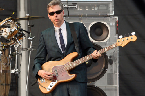 Adam Yauch of the Beastie Boys. So sad to hear about the passing of MCA today, he was a brilliant musician and all-round top bloke.