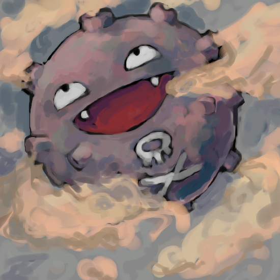 paperscizorsrock:  koffing by ~SailorClef