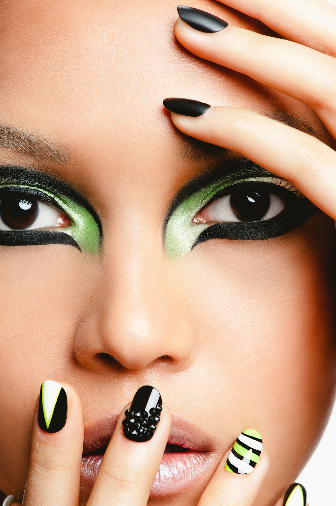nailsbyran:  Nails by RAN Makeup by Keri b Photographer Adriana Curcio