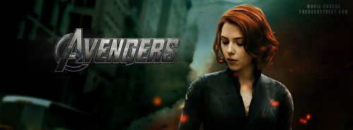 The Avengers Black Widow 3 Facebook Cover
