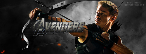 The Avengers Hawk Eye 2 Facebook Cover