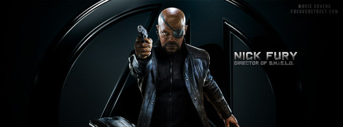 The Avengers Nick Fury Facebook Cover