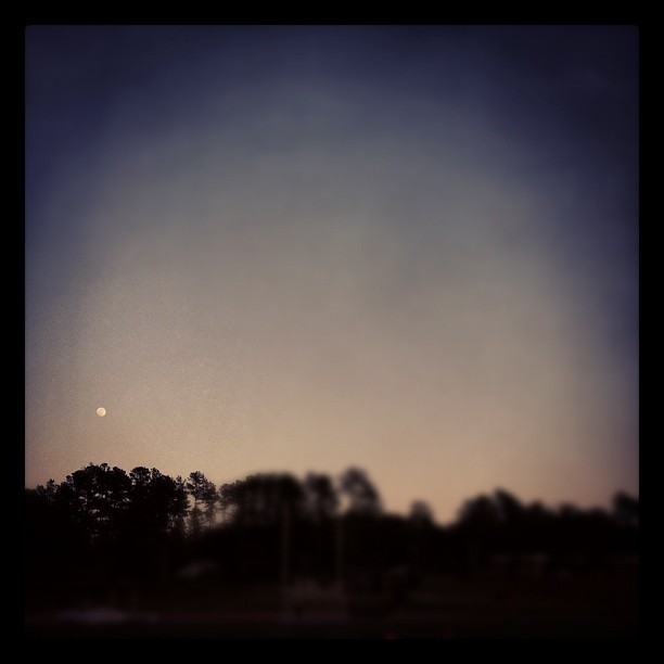 #midnight #moon (Taken with instagram)