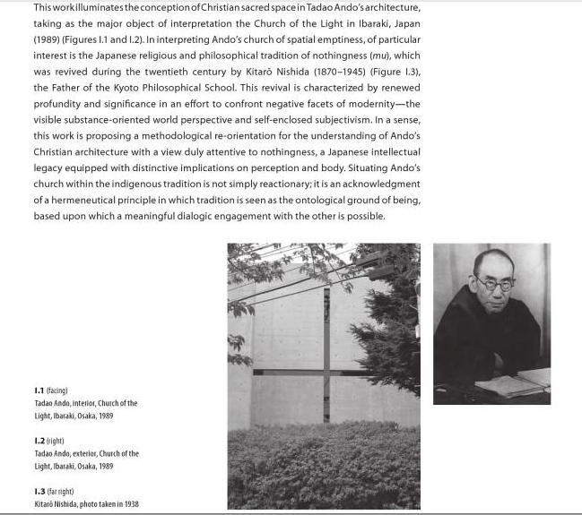 Church of Light - Tadao Ando Book Source Nothingness: Tadao Ando's Christian Sacred Space  By Jin Bae