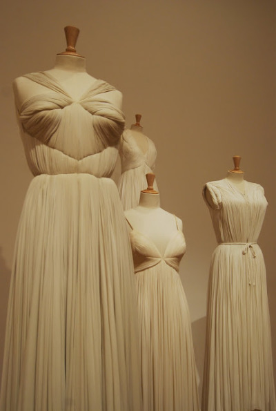 sippingonpussyjuice:  Madame Grès at the Bourdelle Museum