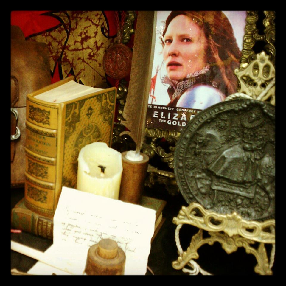 Our director, Erin Li, found props from the film, ELIZABETH!  Universal gave TO THE BONE some really amazing pieces to work with…LIKE us on Facebook & follow us as we develop TO THE BONE.