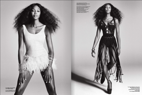 As always the timeless Miss Naomi Campbell…flawless. Plus My friend Meisha's legs rival hers…I just realized. Go Meish!!