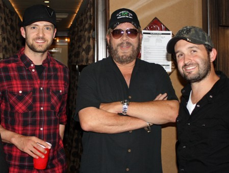 JUSTIN TIMBERLAKE HANGS WITH HANK WILLIAMS JR
