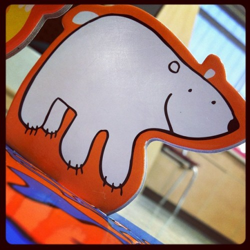 The bear that's polar :p (Taken with instagram)