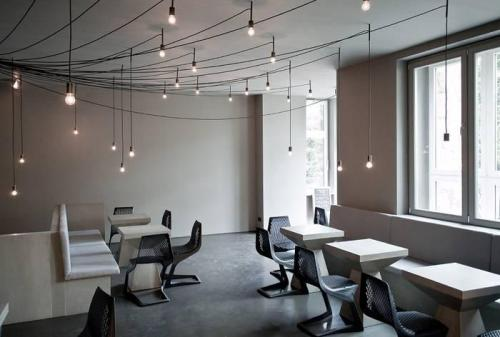 tin restaurant and bar, berlin/karhard architektur via: remodelista