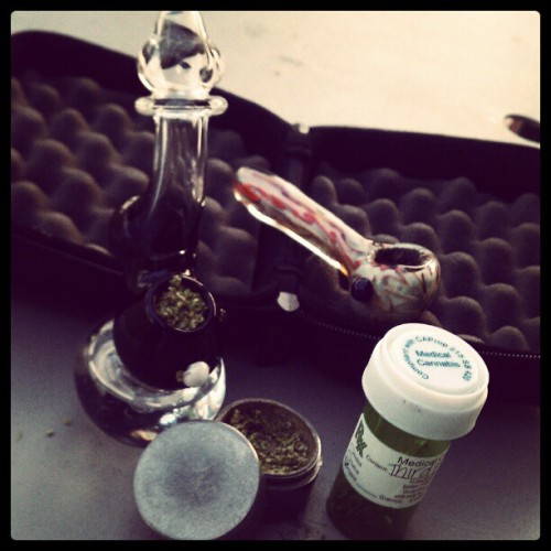 #Bubbler #Weed Getting ready for Vegas  (Taken with instagram)