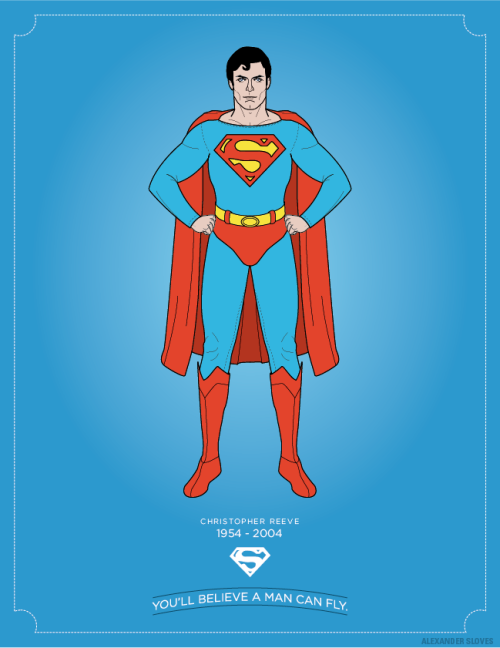 My tribute to Superman actor Christopher Reeve. My site: slov.es
