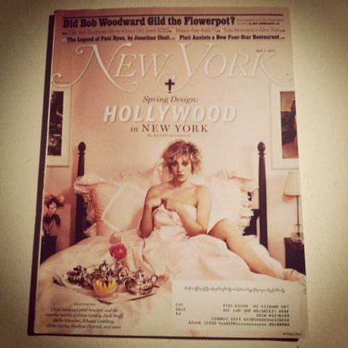 new york magazine starring chloe sëvigny  (Taken with instagram)