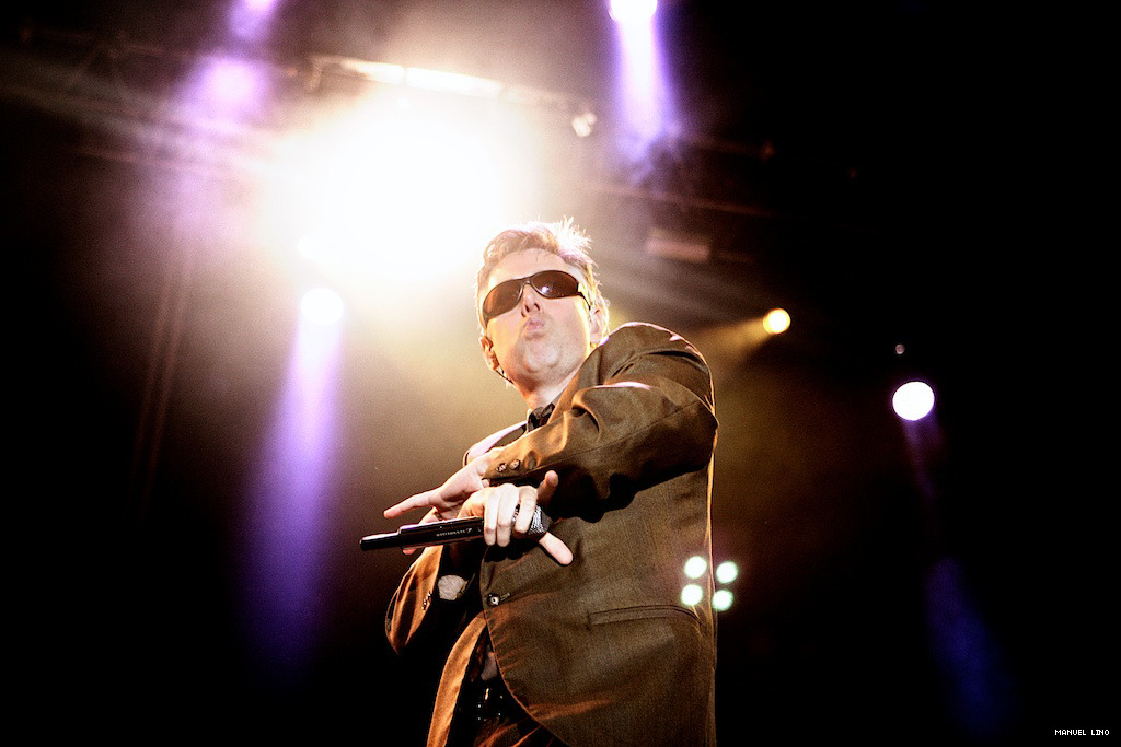 Adam Yauch (MCA) from Beastie Boys. This was shot in summer 2007, it was an unforgettable concert for a lot of people, the first time Beastie Boys played in my country. A show that we've been waiting for years.