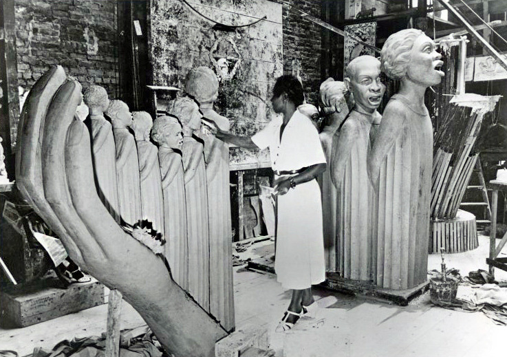 The Harp (1939) | Augusta Savage During construction for the 1939 New York World's Fair