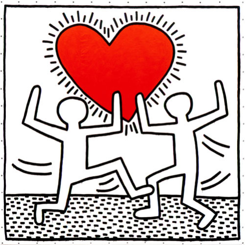 dakotafloyd:  Happy birthday, Keith Haring.