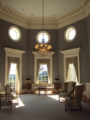 tcarmusing:  The Jefferson Room at Farmington Country Club.  One of my favorite rooms of all time.