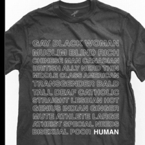 Ima get this shirt. I love what it means:) #lovenothate #pride #human #love  (Taken with instagram)