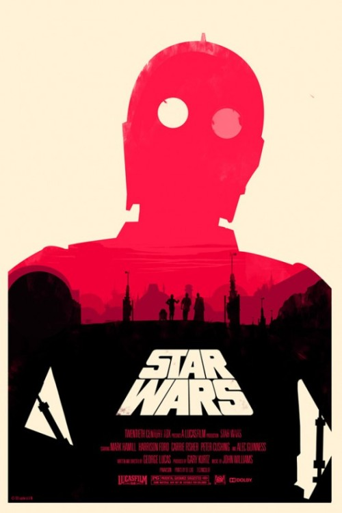ariadnesmaze:  Star Wars fan-made movie posters, a few of my favorites.