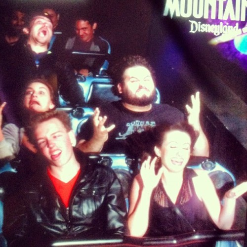 #Disneyland #SpaceMountain #Derp (Taken with Instagram at Space Mountain)
