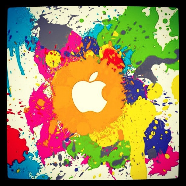 #apple (Taken with Instagram at SRM University)