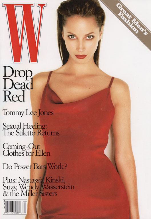 Back when supermodels were supermodels and there were no of-the-moment actresses posing on magazine covers.