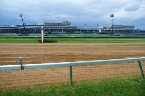 29. Churchill Downs Louisville, Kentucky, USA Built: 1875 - Capacity: 50,000 (seated), 164,858 (record, 2011 Kentucky Derby) Home of the annual Kentucky Derby and the 2011 Breeders' Cup. This racecourse is a National Historic Landmark, earning the title in 1986. It is modeled after Epsom Downs in England. Happy Derby day! Photo by Greg Verdino. Click the source for larger versions.