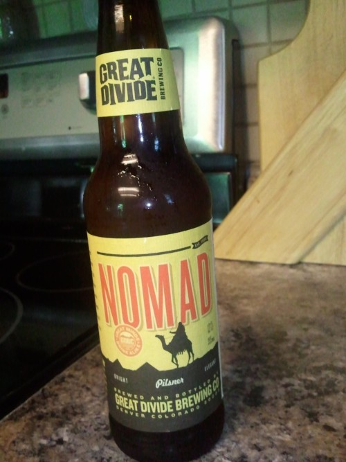 Trying out @greatdividebrew Nomad tonight.