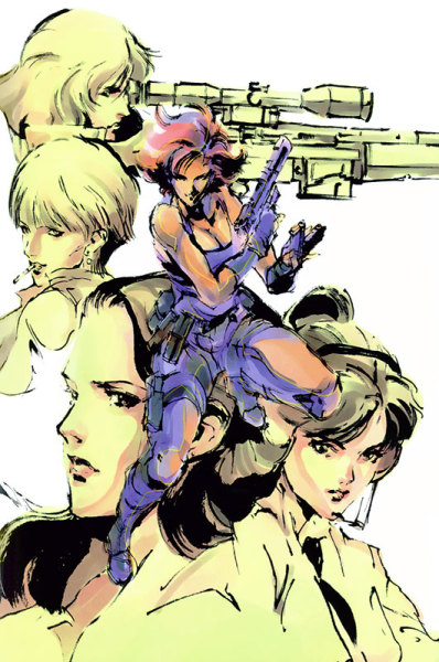 iamshawnmichael:  Metal Gear Solid - Women of Metal Gear