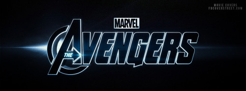 The Avengers Logo Facebook Cover