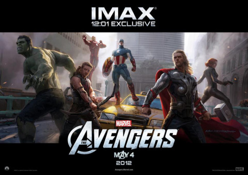 Went to the midnight premiere of Marvel's The Avengers IMAX 3D. Best superhero movie ever!