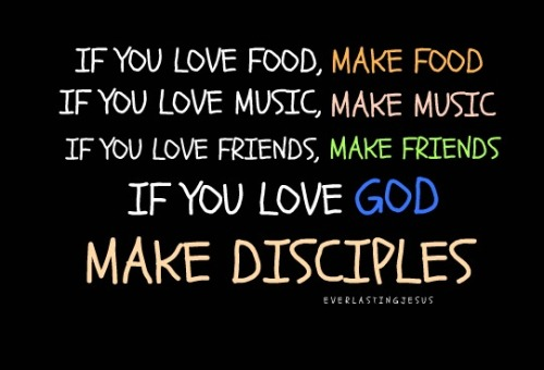 janiethebeloved:  Win souls and make disciples! Matthew 28:19-20  Preach it! Hahaha. Win souls, make disciples!!!:D