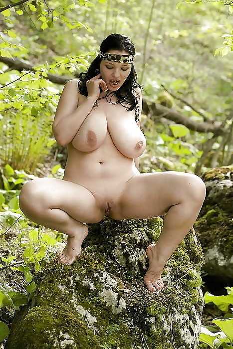 doubleddelightful:  naked in nature  devine