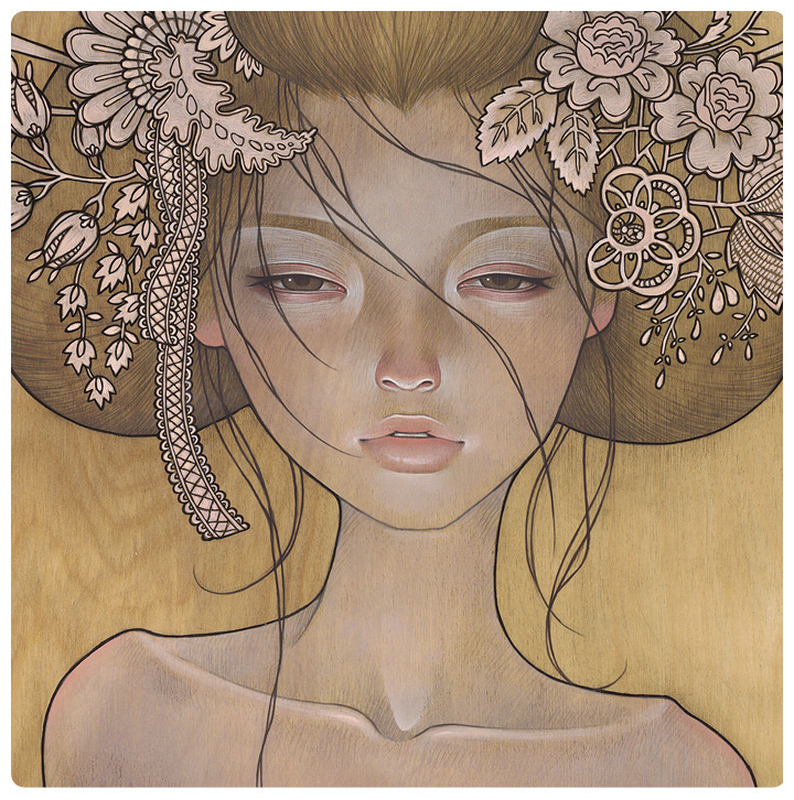 erosart:  Hajimari close-up by Audrey Kawasaki