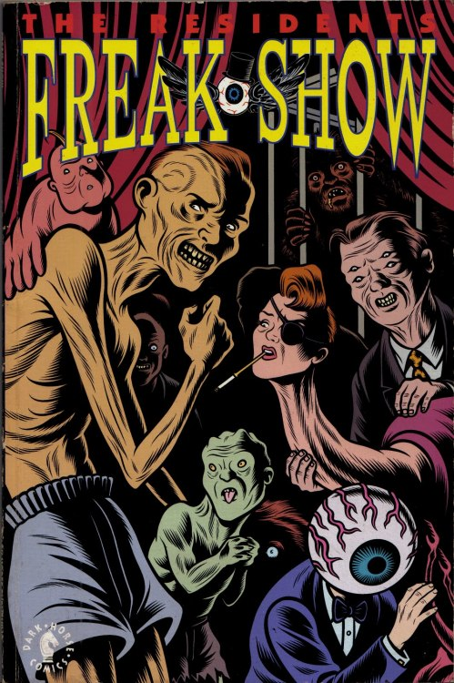 The Residents: Freakshow (comic book) (Darkhorse 1992) Cover Art by Charles Burns