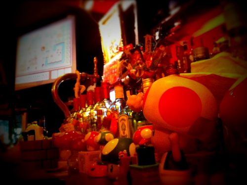 For the record Muteki Mario is one of my favorite bars in Tokyo. Who doesn't like a Mario-centric bar?