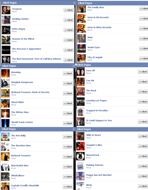 My Facebook likes > YOUR EVERYTHING.