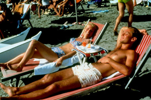 tommyhilfiger:  This classic scene from The Talented Mr. Ripley looks straight out of a vintage postcard.