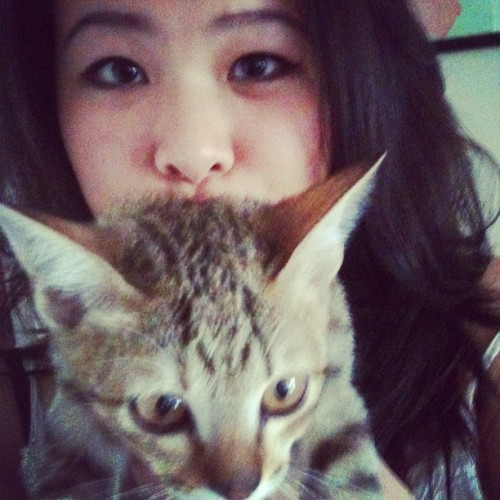 Bonding with Frodo ❤ (Taken with instagram)