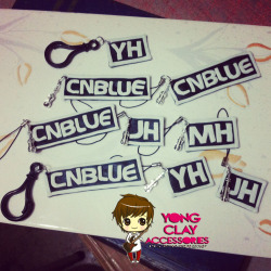 """Yong Clay Accessories"" KPOP Keychains & CP Charms for only 70-90php! :) Just click the photo if you're interested. Jinja gomawo! :"") <3"