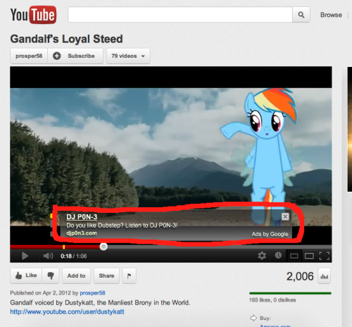 fisherpon:  my-little-pony-pictures:  What Is It Now Google Ads, Wait Is That… I Don't Even.